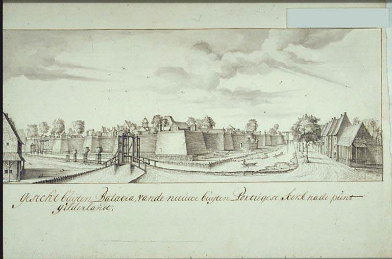 fort, voc,dutch east indies, oost indie, nederlands indie, batavia