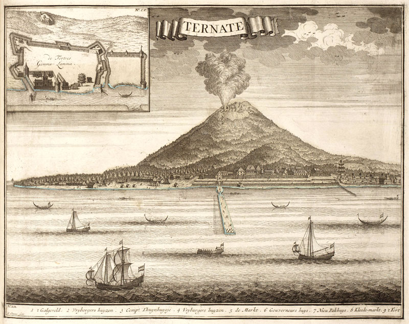 fort, voc,dutch east indies, oost indie, nederlands indie,ternate